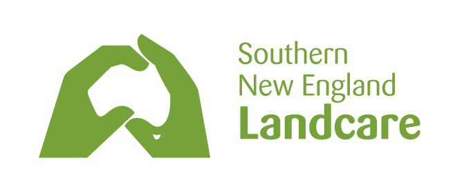 Landcare Inline Green on White