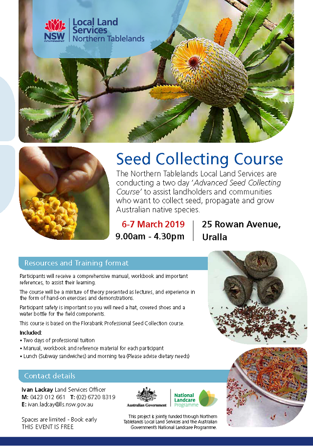 Seed collecting course6 7 March 2019