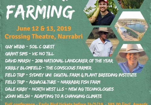 Landcare Adventure Early Bird Ticket (Full Conference) - Available until 22/5/19