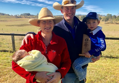 Wilmott Cattle Co Wins NSW Landcare Farming Award